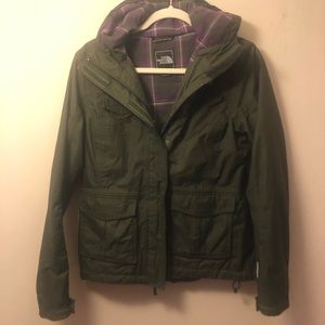 The North Face Jacket deep green